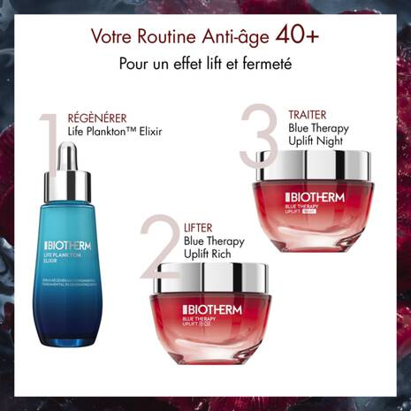 Blue Therapy Red Algae Uplift Crema Notte